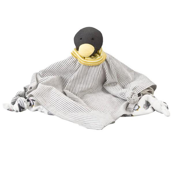 Grosses Bio Schmusetuch Pinguin