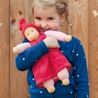 Vorschau: Stoffpuppe ab Geburt ohne Haar die liebe Madita
