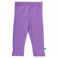 Basic Leggings knielang lila