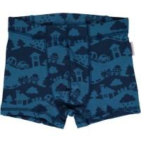 Blaue Landschaft Jungen Boxershorts