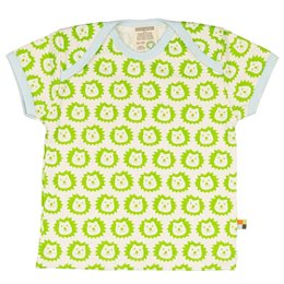 Loud and Proud Bio Shirt mit Löwen grün