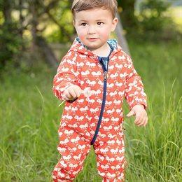 Leichter Outdoor Babyoverall  ungefüttert - schmutzabweisend
