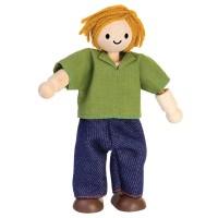 Biegepuppe Bauer für Puppenhaus