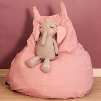 Kinder Sitzsack 90 x 100 x 80 cm - rosa