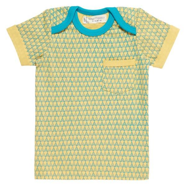 ac7aff0ac85a Bio Baby T-Shirt Schlupfkragen gelb   greenstories