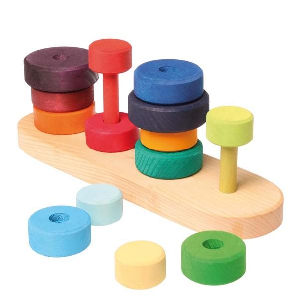 Farben sortieren und Stapeln 25 cm