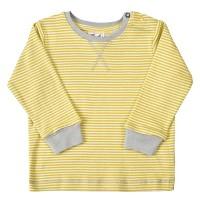 Bio Baby Shirt softe Bündchen gelb