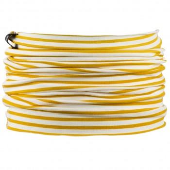 Schlauchschal leicht Ringel 2-10 Jahre gelb