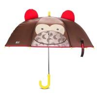 Affenstarker Kinderregenschirm mit Guckloch