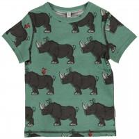Nashorn Shirt kurzarm grün-petrol