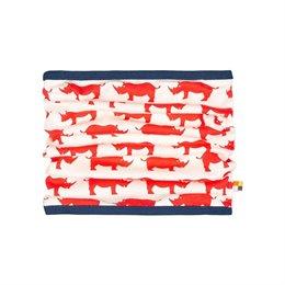Nashorn Schlauchschal rot