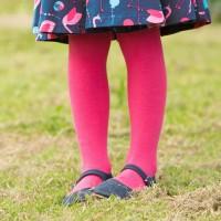 Mitwachsende Strumpfhose Bio pink