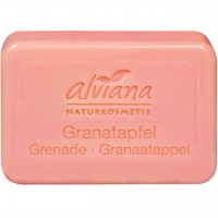 Pflanzenölseife Granatapfel - Stückseife (100g)