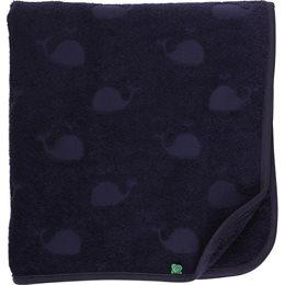 Kinder Bade Handtuch in navy 70x140