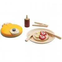 Waffel-Set für Kinder ab 2 Jahre - Spielküchen Zubehör