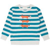 Sweater Pullover leicht und griffig Füchse