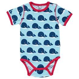 Body kurzarm Wale blau