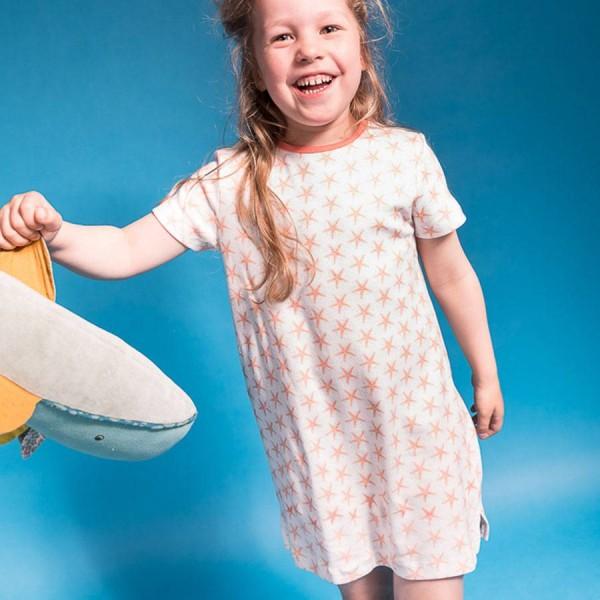 Mädchen Nachthemd Seesterne