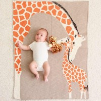 Bio Babydecke Giraffenliebe