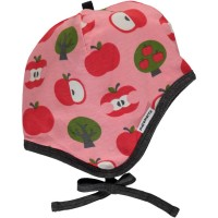 Warme rosa Apfel Babymütze