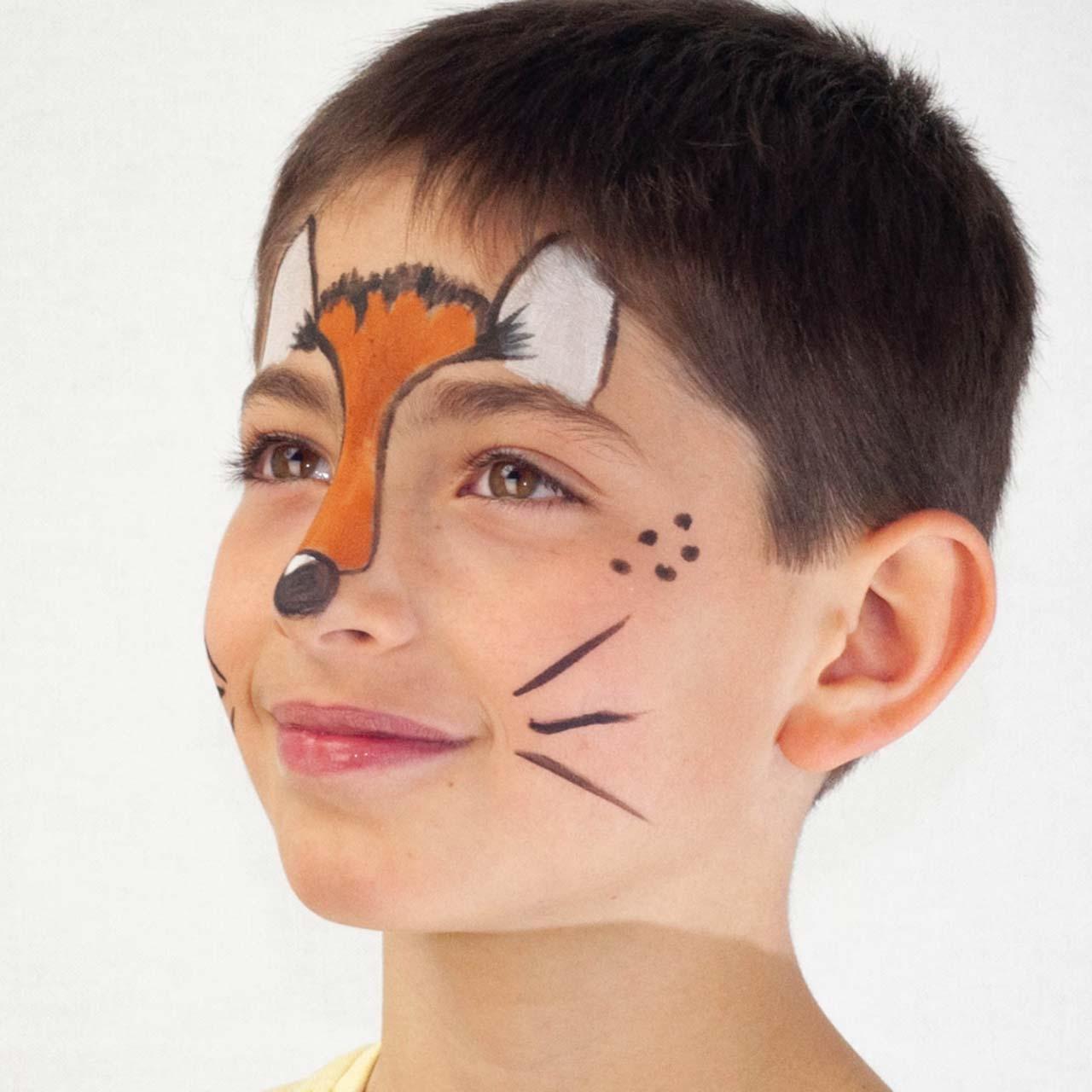 Fuchs schminken kinder