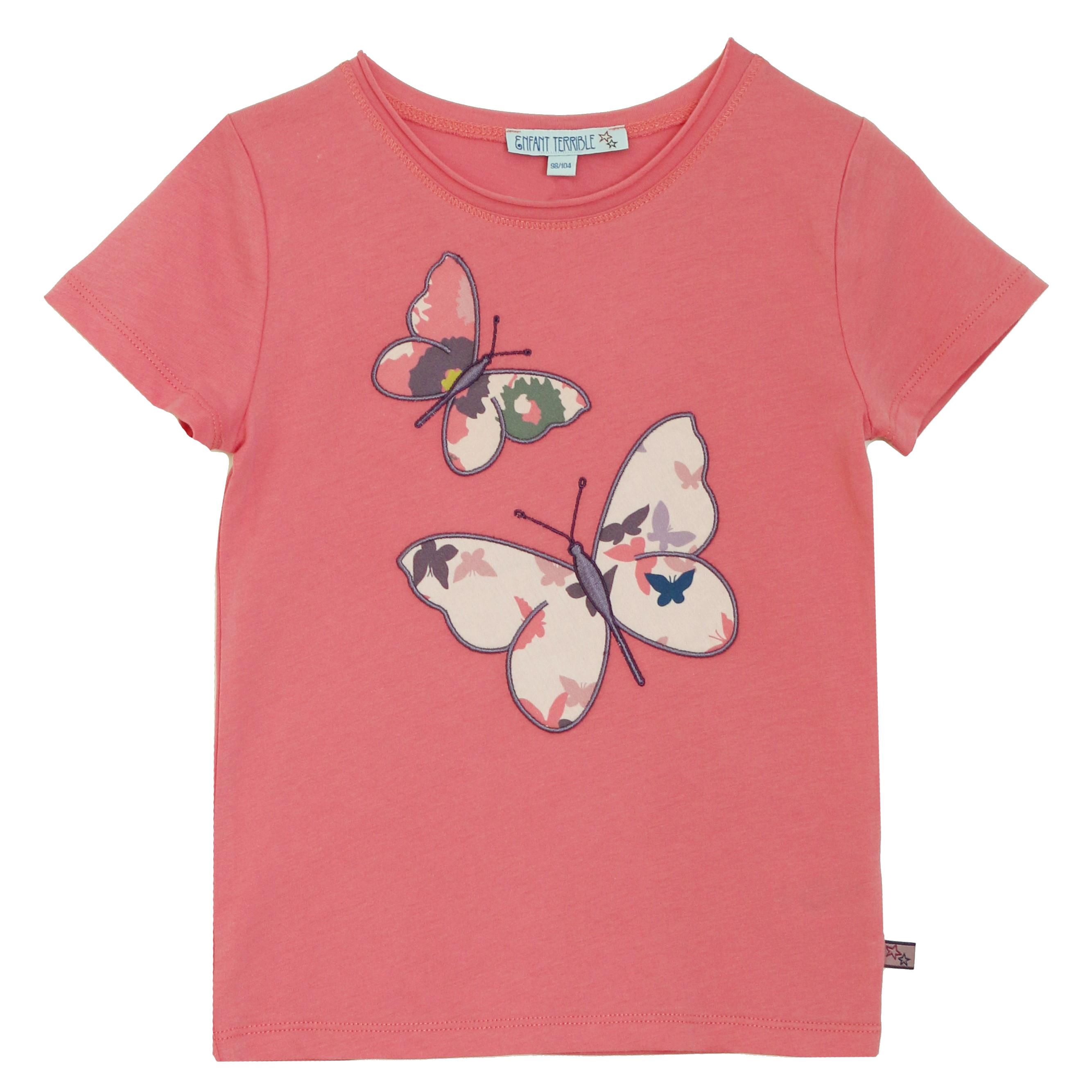 Enfant Terrible Bio Mädchen Shirt Schmetterlinge | greenstories