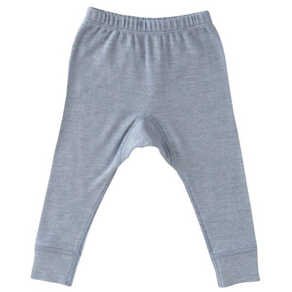 a636d03f56cd1 Wolle Seide Leggings hellblau
