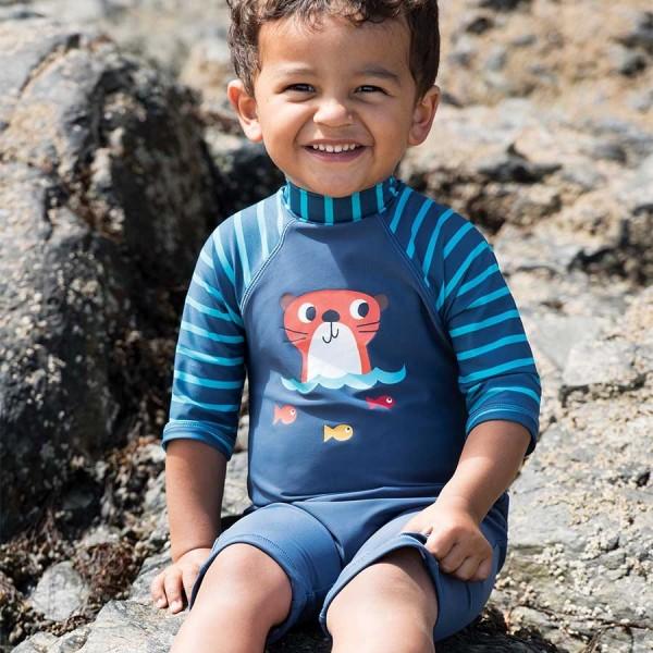 Bade- Strandanzug für Jungen mit putzigem Otter