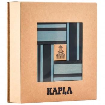 Steine Buch und Farben 40er Set (hellblau/dunkelblau)