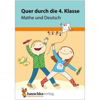 Quer durch die 4. Klasse Mathe & Deutsch Übungsblock
