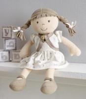 Bestseller! Elegante Puppe aus Biobaumwolle