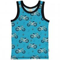 Unterhemd Mopeds in blau