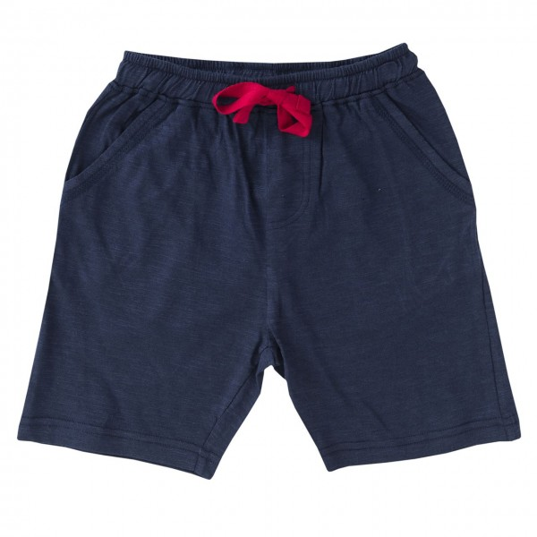 Kinder Shorts super leicht edel mélange Optik navy