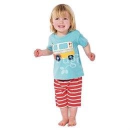 frugi T-Shirt mit Shorts - Eiswagen