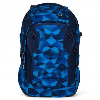 Schulrucksack satch match Blue Crush mit Helmfach - 35l