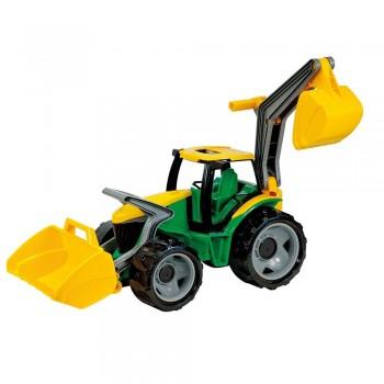 Riesen Traktor - 70 cm - mit Frontlader & Baggerarm