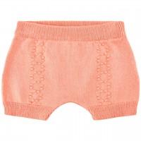 Strick Shorts lachs-rosa