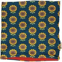 Schlauchschal Nicki Sonnenblumen blau
