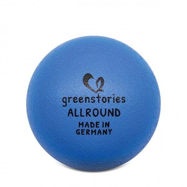 Allround Ball 18 cm blau