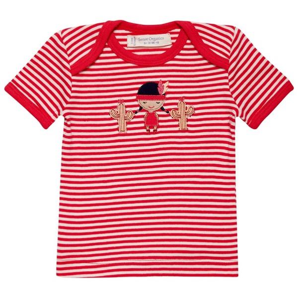Sense Organics Baby-Jungen Tilly Schlupfkragen T-Shirt