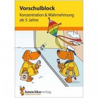 """Vorschulblock """"Konzentration & Wahrnehmung"""" ab 5 Jahre"""