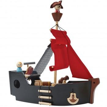 Piratenschiff mit Spielfiguren ab 3 Jahren 35 cm