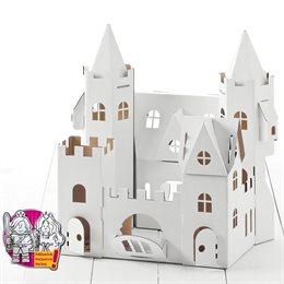 Schloss zum Stecken, malen & spielen