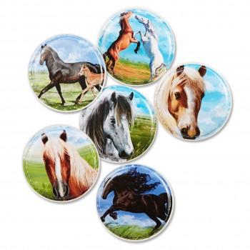 Schulranzen Kletties für alle ergobags Pferde