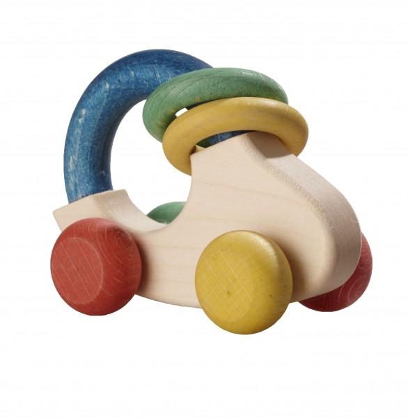 Greifspielzeug - reine Natur - Auto