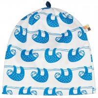 leichte Mütze Faultiere in blau/hell