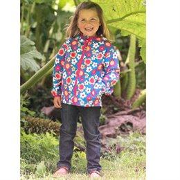 Ganz leichte Kinder Regen Jacke ungefüttert incl. Tasche