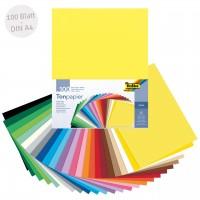 Tonpapier bunt DIN A4 100 Blatt recycelt