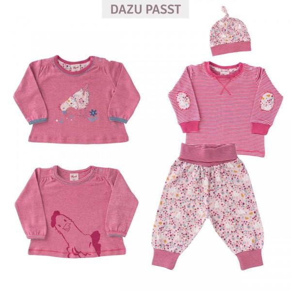 Babyhose Hühnerwiese rosa