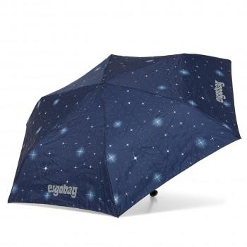 Kinder Regenschirm blauer Nachthimmel